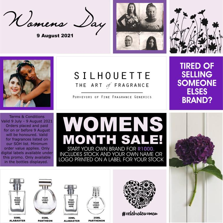Women's Day Perfume Promo